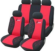 9 шт указан автомобилей чехлы Универсальный Fit Принадлежности для автомобилей