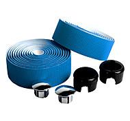 baratos -Moto Guiador Tape Azul Fibra de Carbono / PU 1 pair(2 Pcs)-NUCKILY