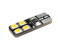 cheap -T10 Car Motorcycle Warm White 1W 2800-3300 Side Marker Light Door lamp Reading Light License Plate Light