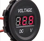 cheap -DC 12V-24V Car Digital LED Voltage Electric Volt Meter Monitor Indicator Tester
