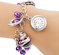 Women's Vase Pendant Alloy Band Quartz Bracelet Watch Cool Watches Unique Watches Fashion Watch