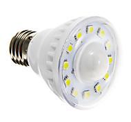 cheap -2W 85-150 lm E26/E27 LED Spotlight A60(A19) 12 leds SMD 5050 Sensor Warm White Cold White AC 220-240V