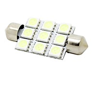 cheap -SO.K Festoon Car Light Bulbs W SMD 5050 180lm lm Interior Lights Foruniversal