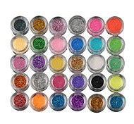 cheap -New Fashion Chic Women Lady Girls Pearly Lustre Shiny Eye Shadow 30 Boxes Colors