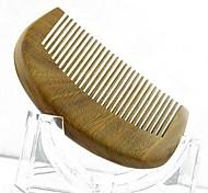 High Quality 9X5.5cm Sandalwood Wooden Comb Health Comb