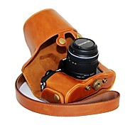 cheap -Dengpin® Leather Protective Camera Case Oil Skin with Shoulder Strap for Olympus OM-D E-M10 with 14-42mm Lens