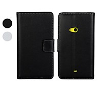 Wallet Style PU Leather Full Body Case with Stand and Card Slot for Nokia Lumia 625 (Assorted Colors)