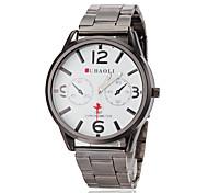 JUBAOLI® Men's Plane Pointer Steel Band Quartz Wrist Watch (Assorted Colors) Cool Watch Unique Watch Fashion Watch