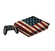 b-piel® consola PS4 cubierta protectora pegatina adhesivo controlador de la piel