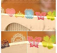 pvc adesivi decorativi (70 pz colore casuale)