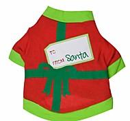 Gatti / Cani T-shirt Nero / Verde Abbigliamento per cani Primavera/Autunno Natale