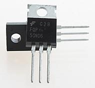 FQP50N06 TO-220 50N06 60V N-Channel Mosfet (5PCS)