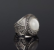 cheap -Vintage Classic Opals And Rhinestone Men's Ring Christmas Gifts