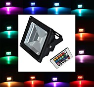 LED Floodlight 1 leds High Power LED 900lm RGB Remote-Controlled AC 85-265