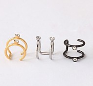 Ear Cuffs Costume Jewelry Titanium Steel Jewelry For Wedding Party Daily Casual