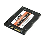 "Mini PCI-E mSATA SSD to 2.5"" SATA Hard Disk Enclosure Case Converter Adapter for Intel Samsung Asus Black"