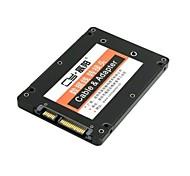 """Mini PCI-E msata SSD в 2.5 """"SATA диска корпуса адаптера жесткий кейс преобразователя для Intel Samsung ASUS черного"""
