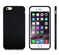 cheap -Case For Apple iPhone 8 iPhone 8 Plus iPhone 5 Case iPhone 6 iPhone 6 Plus iPhone 7 Plus iPhone 7 Shockproof Back Cover Solid Color Soft