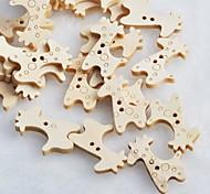 Giraffe Scrapbook Scraft Sewing DIY Wooden Buttons(10 PCS)