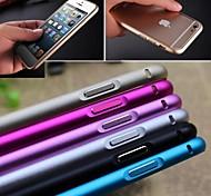 Недорогие -ультра-тонкий алюминиевый пряжка случай бампера открыта крышка металлическая для Iphone 6с 6 плюс