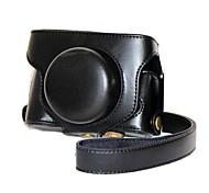 Недорогие -pajiatu® ретро пу кожаный чехол для фотокамеры защитный чехол с плечевым ремнем для FujiFilm X30