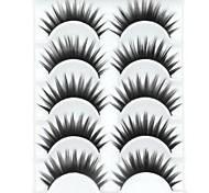 baratos -Pestana Volumizado Grossa Maquiagem para o Dia A Dia Grossa Comprimento Natural Acessórios para Maquiagem Alta qualidade Diário
