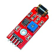 cheap -KEYES 801S Vibration Sensor Module - Red (DC 3~5V)
