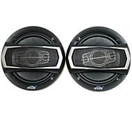 6 дюймов 400w динамики автомобиля с монтажными аксессуарами, черный (пара)