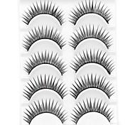 baratos -Pestana Volumizado Natural Encaracolado Maquiagem para o Dia A Dia Comprimento Natural Acessórios para Maquiagem Alta qualidade Diário