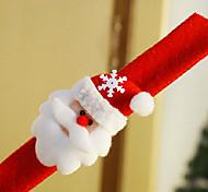 Недорогие -красочный хлопок круг Дед Мороз браслет рождественский подарок
