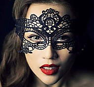 cheap -Sexy Women Black Lace Masquerade Halloween Mask Halloween Prop Cosplay Accessories