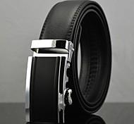 Недорогие -мужская мода бизнес автоматическая пряжка кожаный ремень