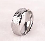 Недорогие -Кольца Бижутерия Нержавеющая сталь Кольцо Классические кольца 1шт