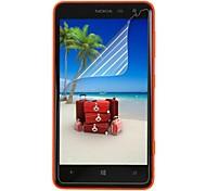 Недорогие -профессиональный высокой четкости экран протектор с чистящей тканью для Nokia 625