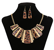 Women's Statement Necklaces Crystal Synthetic Gemstones Jewelry For Party
