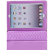 Bluetooth 3.0 tastiera pu custodia in pelle per iPad 2/3/4