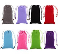 Velvet Cotton Halter Protective Bag for iPhone 6/6S  (Assorted Colors)