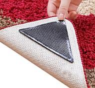 Недорогие -8 штук удивительные Многоразовый моющийся треугольник не скольжению занос ковер захваты ковровое покрытие наклейки