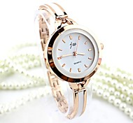 cheap -Women's Quartz Bracelet Watch Imitation Diamond Alloy Band Fashion / Bangle Silver / Gold