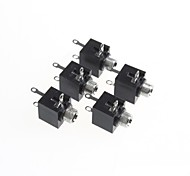 3.5-Channel Stereo Audio Jack Socket (5Pcs)