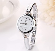 cheap -Women's Quartz Wrist Watch Casual Watch Alloy Band Charm Fashion Silver