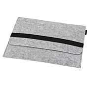 "cheap -Sleeve for Macbook Pro 13.3"" Solid Color Textile Material Wool Felt Ultrabook Sleeve Bag Laptop Inner Case Cover"