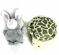 Недорогие -Rabbit Животный принт Пальцевые куклы Марионетки Мультяшная тематика Хлопок Плюш Милый стиль Милый Оригинальные Девочки Мальчики Подарок