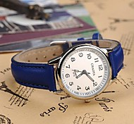 Women's Fashionable Style Alloy Analog Quartz PU Watch(Assorted Colors) Cool Watches Unique Watches Strap Watch
