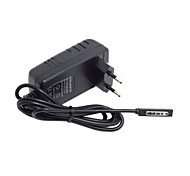 abordables -eu europa 2.6a 12v enchufe del adaptador de corriente escritorio 45w para Microsoft Surface Windows RT 1 2 8