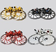 cheap -WEST BIKING®Bicycle Disc Brake 160mm Caliper Rotor BB5 BB7 MTB Front and Rear Disc Brakes+2 Disc Brakes Tablets+Screws Cycling Disc Brake