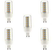 4W G9 Bombillas LED de Mazorca T 36 leds SMD 5730 Blanco Cálido 350-400lm 3000-3500K AC 100-240V