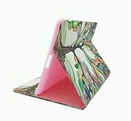 Недорогие -красочным узором дерева PU кожаный чехол с подставкой и слот для карт памяти для Ipad 2/3/4