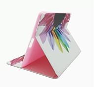 красочным узором цветы PU кожаный чехол для всего тела с подставкой и слот для карт памяти для Ipad мини 1/2/3