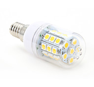 4W E14 LED Corn Lights T 30 leds SMD 5050 Warm White 300-350lm 2800-3000K AC 220-240V